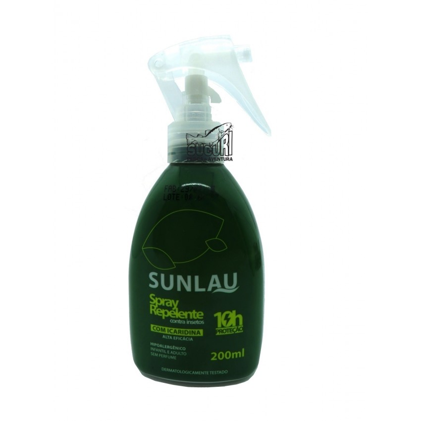 REPELENTE SUNLAU SPRAY 200ML