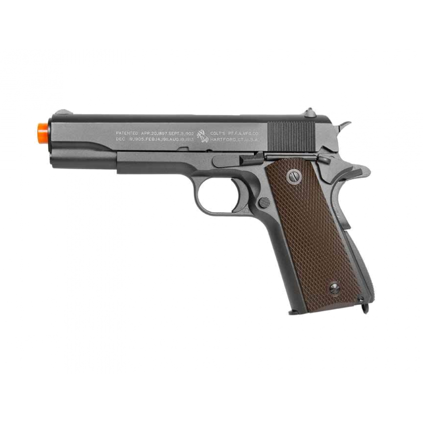 PISTOLA DE AIRSOFT CO2 COLT 1911 A1 FULL METAL BLOWBACK 6MM