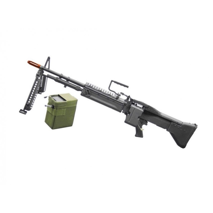 RIFLE DE AIRSOFT M60 6MM
