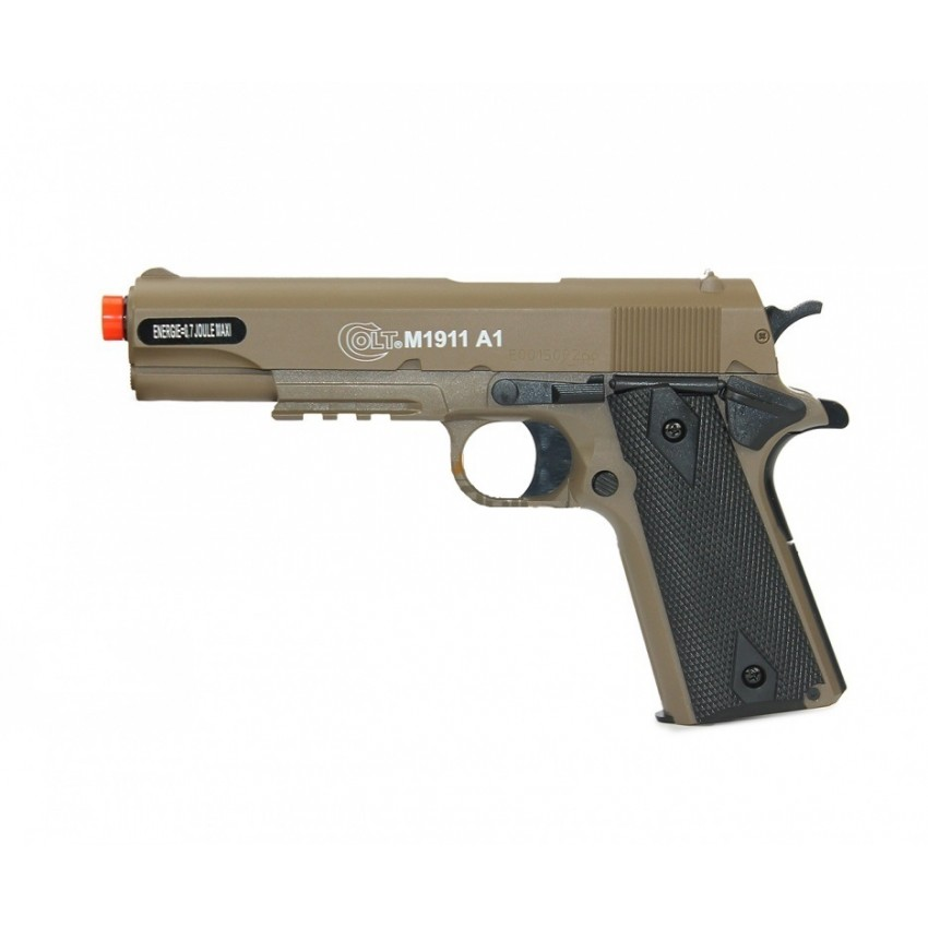 PISTOLA DE AIRSOFT  M1911 A1 6MM