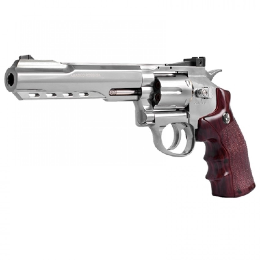 REVOLVER CO2 WINGUN METAL 702 S 6 POL 4.5MM